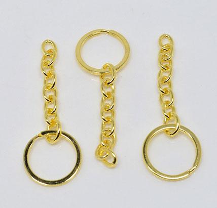 Gold Keyring