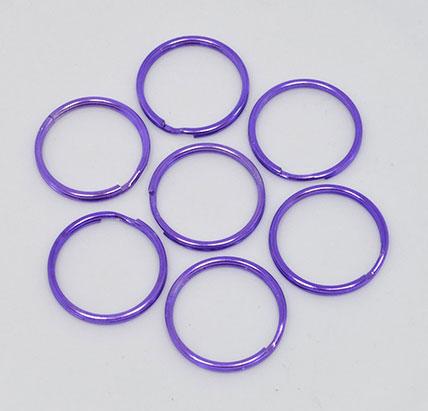Purple Keyring