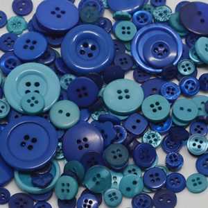 blue mixed buttons